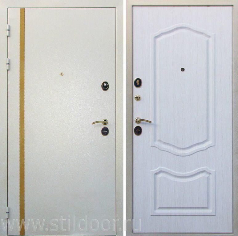 входная дверь белая заказать